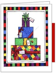 Gifts of Peace and Joy Christmas Card