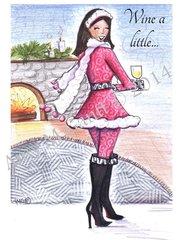 Cheers - Ice Wine Greeting Card