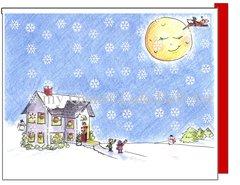 Christmas - Christmas Eve Snow Card