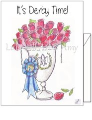 It's Derby Time - Winner's Cup Boxed Note cards