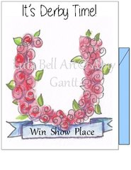 It's Derby Time - Win Show Place Boxed Note Cards
