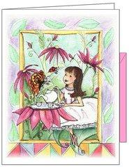 Garen Tea Party Birthday Greeting Card