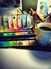 Get Your Creativity On - Art Classes for Non-Artist Creative Adults