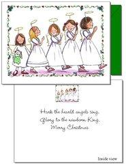 Christmas - Angel Parade Card