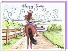 Happy Trails Boxed Note Cards