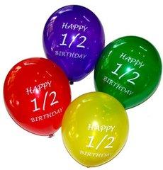 Half Birthday Balloons