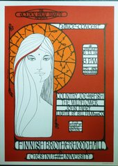 Country Joe, John Fahey 1966 poster - reprint