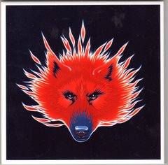 Stanley Mouse - ceramic tile art - Steppenwolf