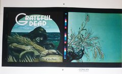 Grateful Dead - Wake of the Flood - album cover proof - Rick Griffin