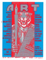 Artist Rights Today II handbill 1986 -damaged