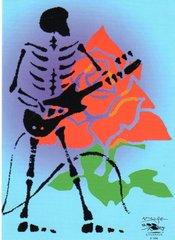 Grateful Dead holiday card (single card)