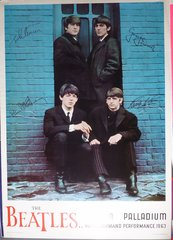 Beatles Command Performance vintage poster