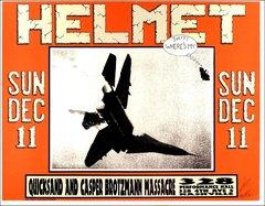 Helmet - signed Kelley