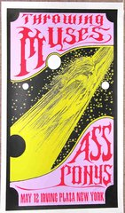 Kelley signed poster Throwing Muses