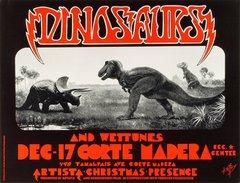 Dinosaurs poster Artista Christmas Presence