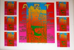 Artist Rights Today III uncut sheet 1987