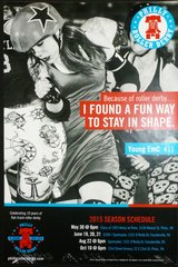Philly Roller Derby poster