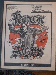 Rock Ages - Trouser Press - Rick Griffin art 1982
