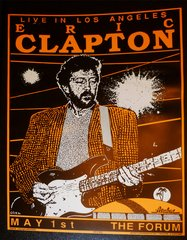 Eric Clapton at the Forum (LA) - Kozik