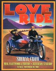 Love Ride 2002 program - Stanley Mouse, Harley Davidson
