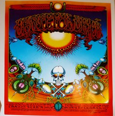 Grateful Dead - Aoxomoxoa poster - 1982 (B condition)