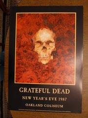 Grateful Dead at the Oakland Coliseum 1987