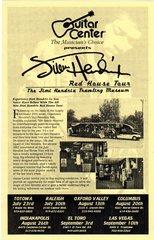Jimi Hendrix Traveling Museum flier 2002