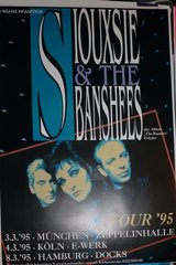 Siouxsie and the Banshees 1995 tour poster