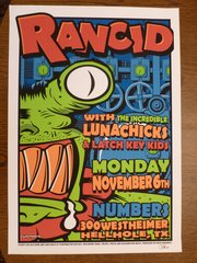 Rancid, Lunachicks, Latch Key Kids 1995