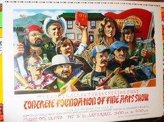 Concrete Foundation of Fine Arts poster untrimmed