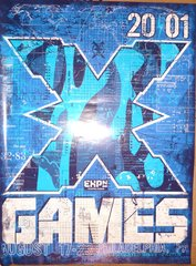 X-GAMES PHILLY 2001 poster