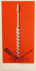 Qualler - silkscreen poster