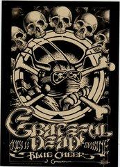 Grateful Dead concert handbill 1968 variant