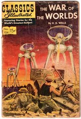 War of the Worlds Classics Illustrated 1954