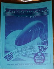 """Led Zeppelin - """"Sold Out"""" - Oakland Stadium"""