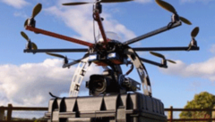 DJI Spreading Wings S900 Hexacopter with Wookong-M Multi-Rotor Stabilization Controller
