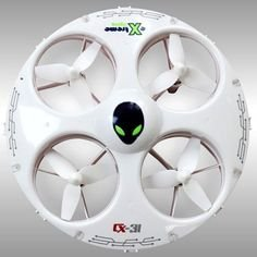 Cheerson Cx-31 Headless Mode 4ch 2.4g 6-axis Gyro 3d Tumbling in Four Directions Mini High Speed UFO Mini Rc Quadcopter LED Light