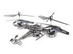 RC TWIN ROTOR AVATAR 2.4 GHZ 4CH 9.5 INCH DRONE