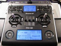 RADIOS GRAUPNER HOTT MC-202 2.4 GHZ W/TELEMETRY