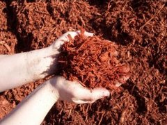 Bagged Red Hardwood Mulch