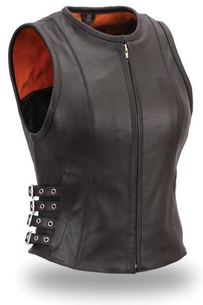 "Ladies ""Brittany"" Leather Vest"