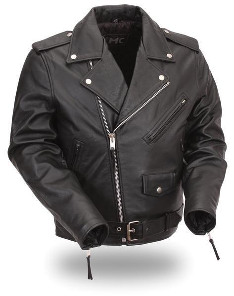 """Men's """"Superstar"""" Leather Jacket"""