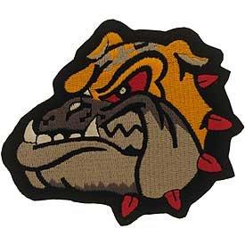 Marine Bulldog Patch