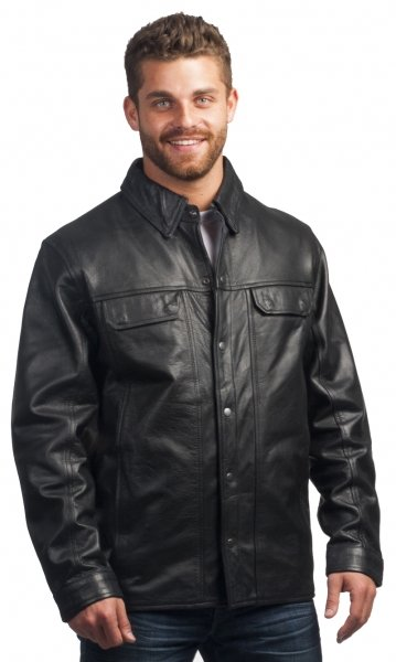 Men's Lowrider Leather Shirt
