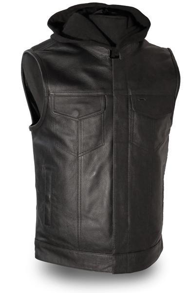 """Men's """"Assassin"""" Leather Vest"""