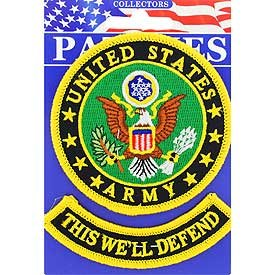 """Army """"This We'll Defend"""" Patch"""