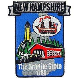 New Hampshire State Patch