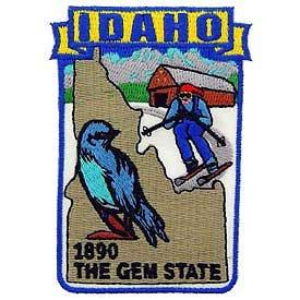 Idaho State Patch