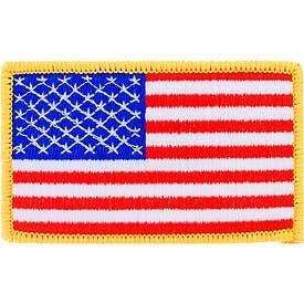 USA Flag (Left Arm)