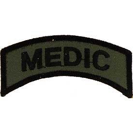 Army Medic Tab Patch
